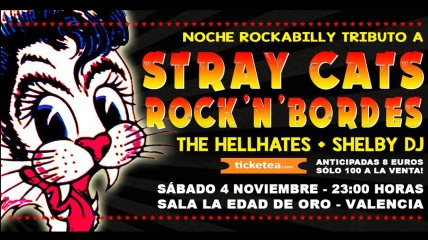 stray cats rock bordes the hellhates